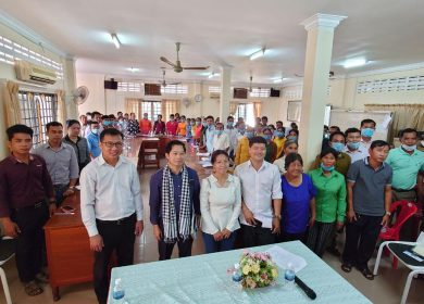 NGO Forum On Cambodia works for climate resilient agriculture