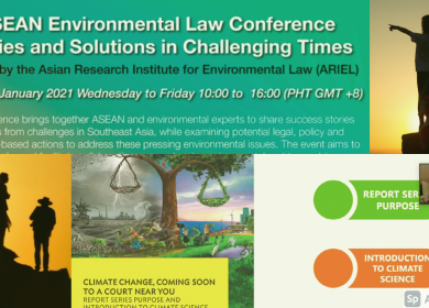 ASEAN Environmental Law Confab aims to strengthen collaboration