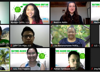 ACCC hosts virtual dialogue on nature-based solutions
